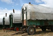 sheep wagons are one of the